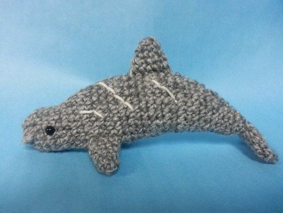 Free Amigurumi Dolphin Pattern : Best amigurumi sea life dolphin images