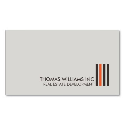 Top Real Estate Development Firms : Best real estate and realtors business card templates