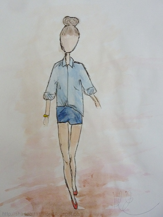 Shade of Fashiion - #art #fashion #pippamcmanus #watercolor #blog #drawing