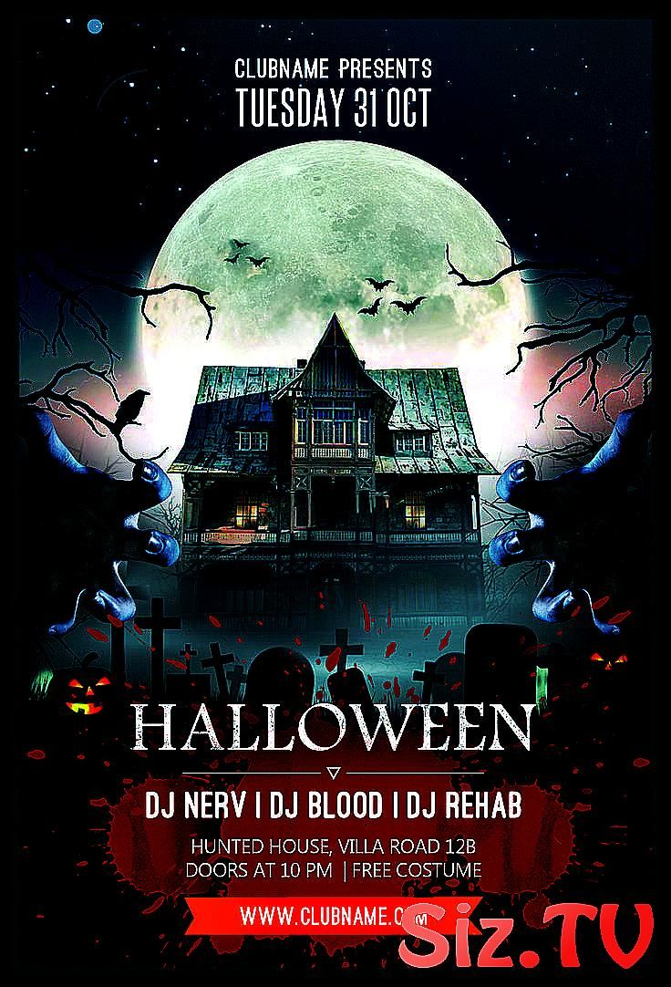 Halloween Flyer Design Are You Ready For Halloween Party This Year Halloween Halloween Flyer De C Halloween Flyer Halloween Design Halloween Party Poster
