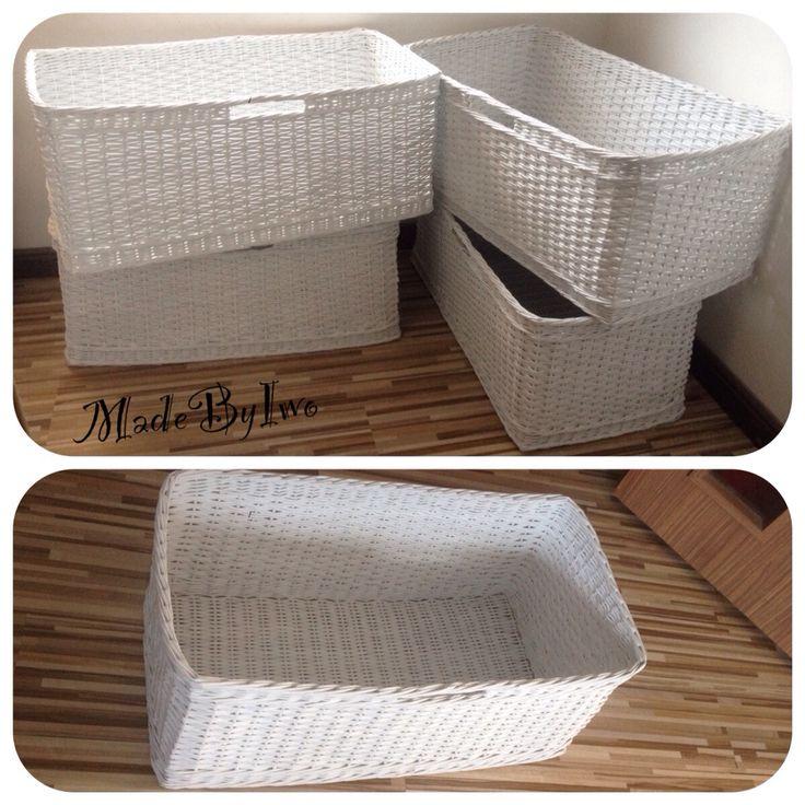 Paper roll baskets