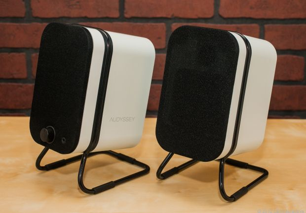 The Audyssey Wireless Speakers are high-style Bluetooth speakers that offer great sound quality and much better stereo separation than single-speaker competitors. Read CNET's review here: http://cnet.co/NHy3FR