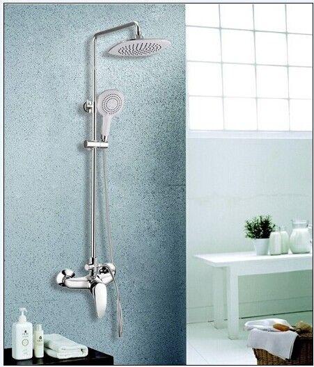 [BECOLA] Рекомендуется душ Новый медь холодный белый душ Мода набор для душа