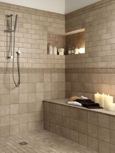 Best Shower Floor Wall Tile Images On Pinterest Shower