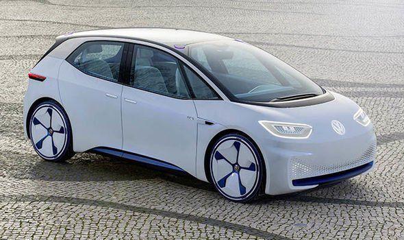De Elektrische Volkswagen I D Electric Sedan Concept Car De I D Neo Volkswagen Auto Elektrische Auto S