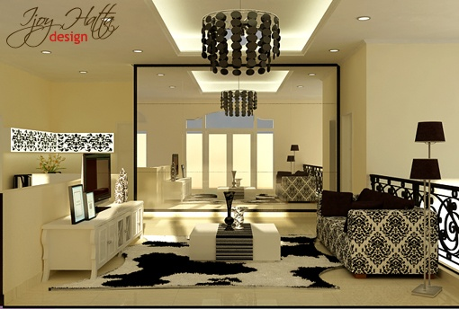 Vintage and Masculine Living room  @ijoy_hatta