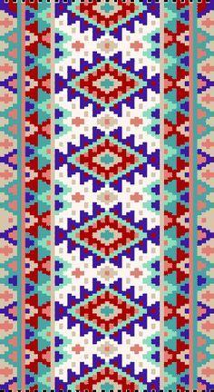peyote stitch necklace folk - Buscar con Google