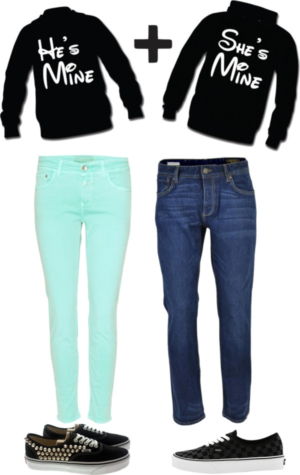"""""""Matching Couple Outfits"""" by happilyyeverrafterrr on Polyvore"""