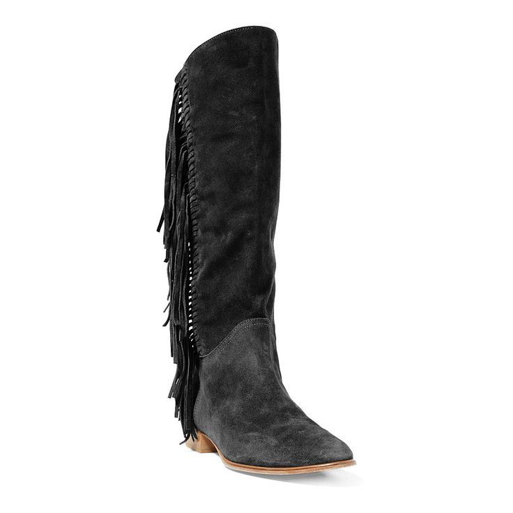 Julianna Fringed Suede Boot