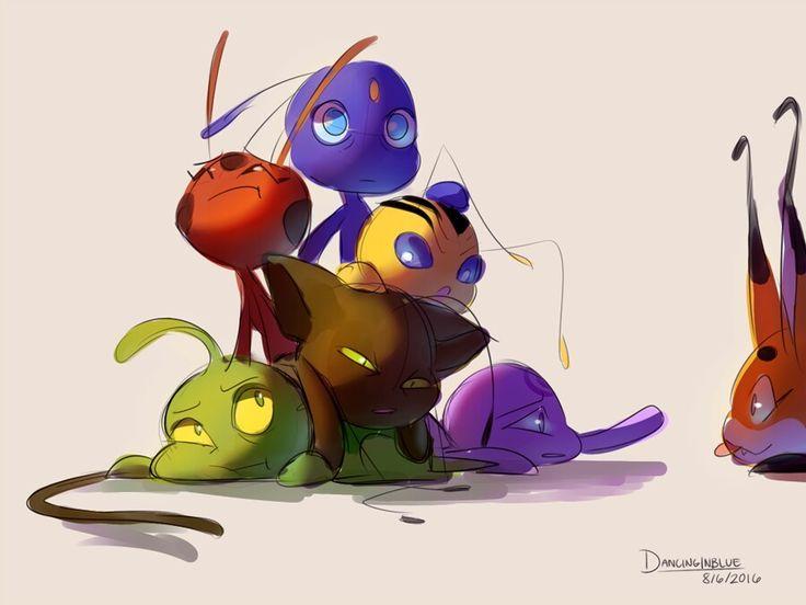 Miraculous Ladybug - Kwamis