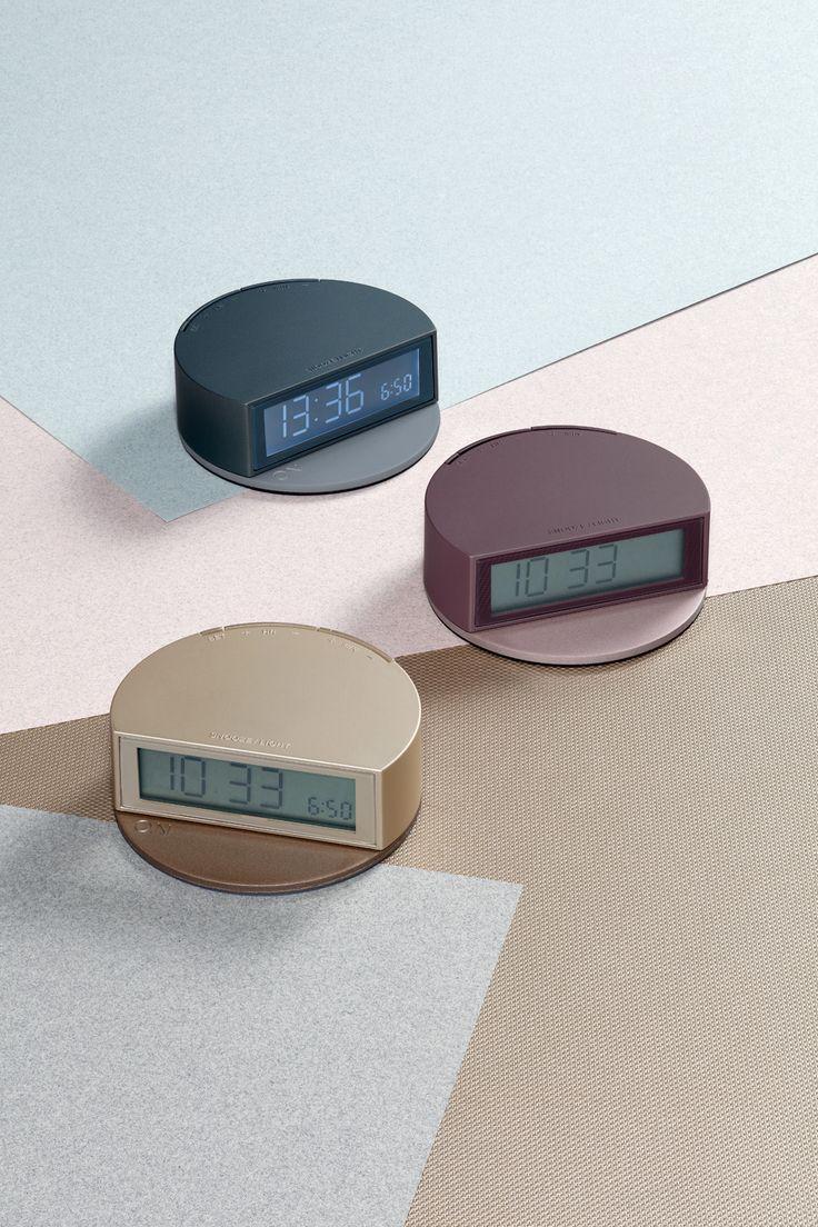 Lexon - FINE clock, design Pauline Deltour