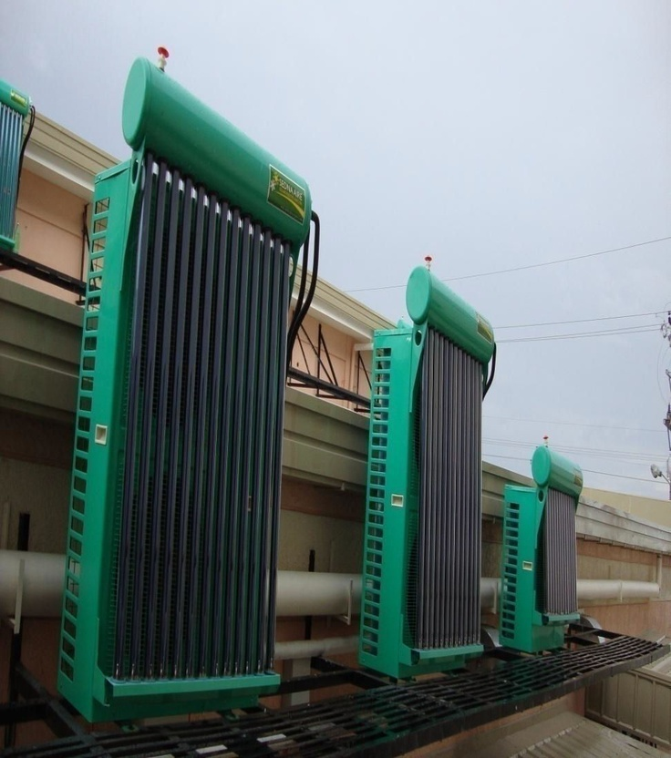 Clients savings on electricity cost, over a period, cover the cost of #hybrid_solar_air-conditioner.