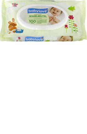 Die babylove Windelbeutel sind ideale Helfer für die saubere und hygienische Entsorgung benutzter Windeln. Sie sind einfach und sauber zu verschließen und...