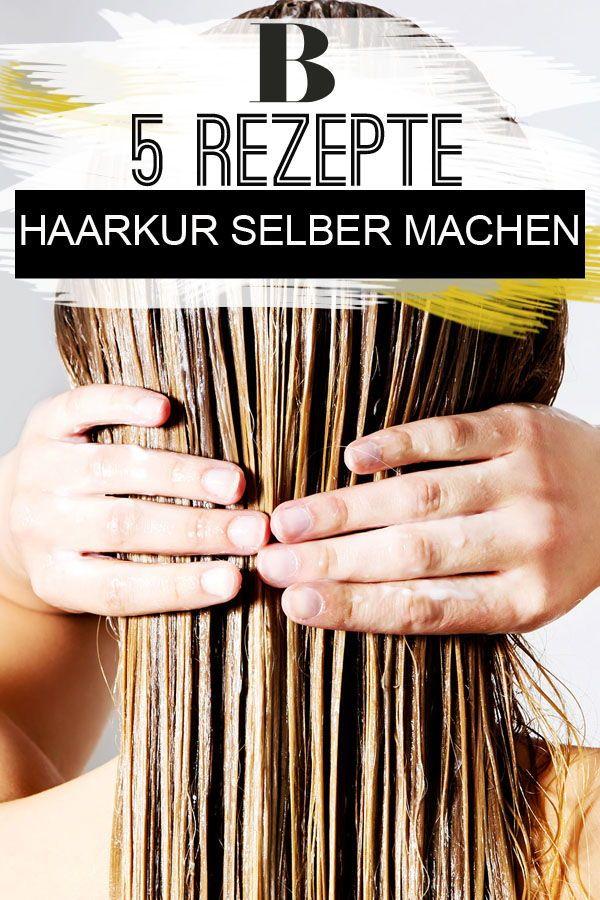 Haarkur selber machen – die 5 besten Rezepte