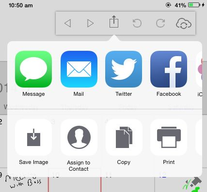 Free iPad Calendar App With Handwriting Recognition Feature