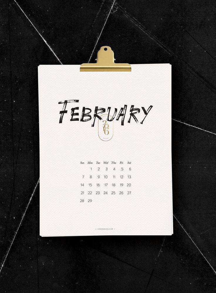Die 15 schönsten (Taschen-)Kalender für 2016 - Journelles do it yourself calender