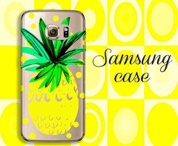 Pineapple CASE, Grand Prime case, silicone Samsung case, clear case, Galaxy s6 case, galaxy S5 case, Galaxy Alpha, galaxy J7, samsung J5