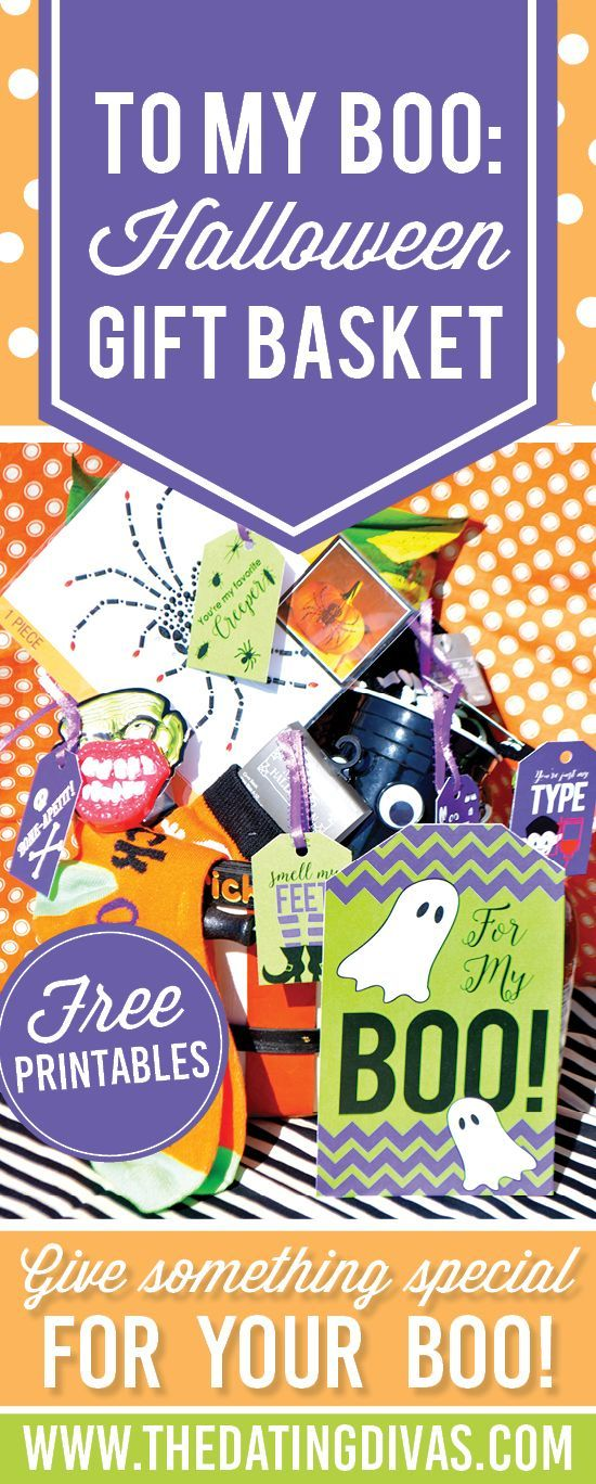 To My BOO: Halloween Gift Basket! DIY gift idea - The Dating Divas!