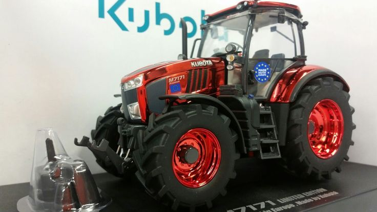 NEW Toy Model KUBOTA M7.171 Tractor 1.32 scale Just Released LIMITED EDITION | eBay