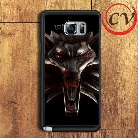 The Witcher Game Logo Samsung Galaxy Note 5 Case