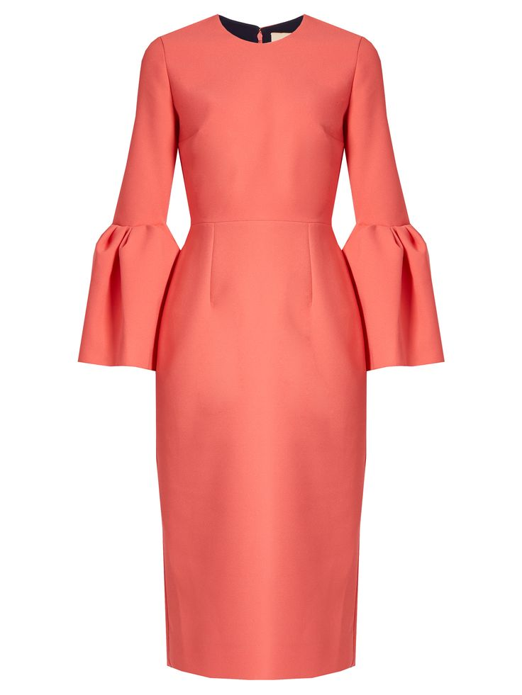 Margot bell-sleeved crepe dress   Roksanda   MATCHESFASHION.COM US