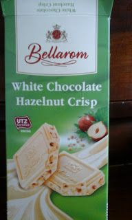 Cosmetics & Life: Am gustat și: Ciocolată albă cu alune Bellarom