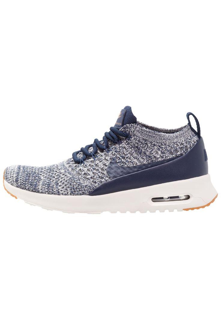 bestil  Nike Sportswear AIR MAX THEA ULTRA FK - Sneakers - college navy/sail/medium brown til kr 599,00 (09-10-17). Køb hos Zalando og få gratis levering.