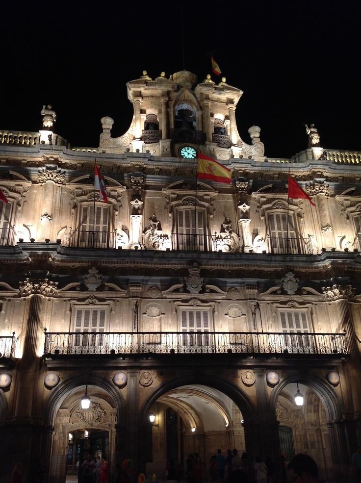 Plaza Mayor de Salamanca. Main Square of Salamanca