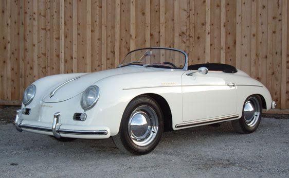 "Dream car...well my ""I'm having a mid-life crisis, Sunday afternoon car."" 1956 Porsche 356 Speedster"