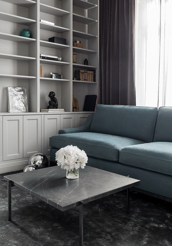 Layered's Imperial Sofa Teal Ashes. A classic and timeless design that never goes out of style. Comfortable yet refined, the Imperial Sofa is created with delicate lines. With excellent comfort combined with quality, this sofa is the epitome of modern elegance. See more at: http://layeredinterior.com/product/imperial-sofa-2/
