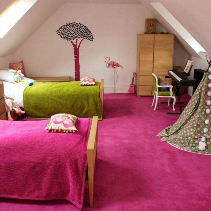 Girly Bedrooms Pink: 1000+ Ideas About Twin Girl Bedrooms On Pinterest