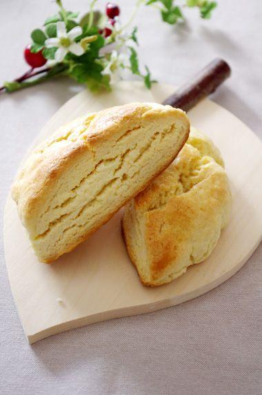材料3つで作る!簡単チーズスコーン☆ | 美肌レシピ