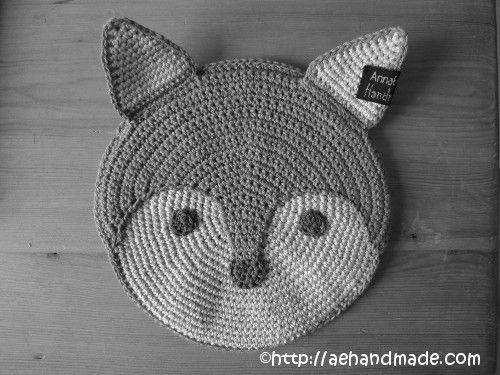 Crochet Fox Pot Holder - FREE Pattern / Tutorial