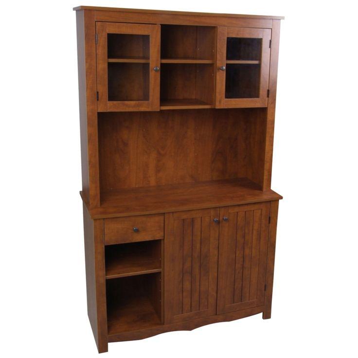 Oak Hills Oak China Cabinet - Style # 3X326