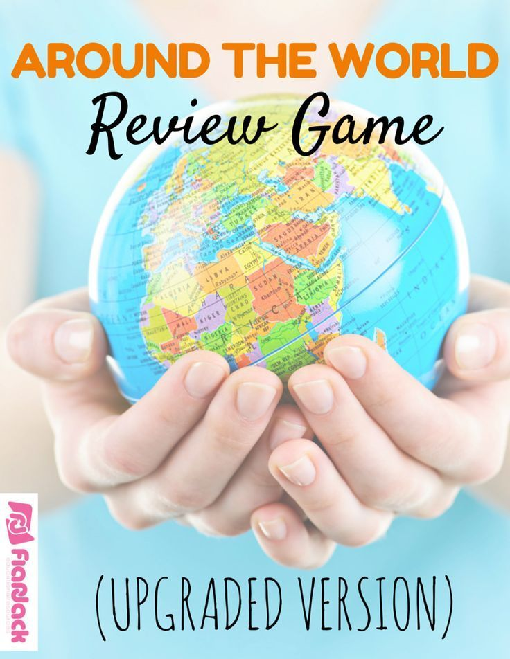 Around The World – Great Group Games