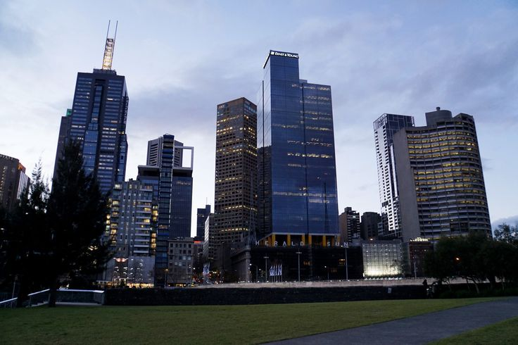 """The City"", CBD, Melbourne"