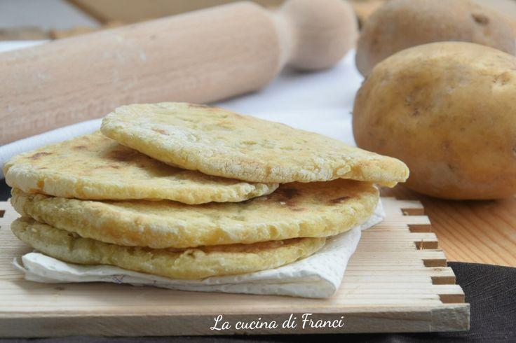 Pane di patate in padella senza glutine e lievito2