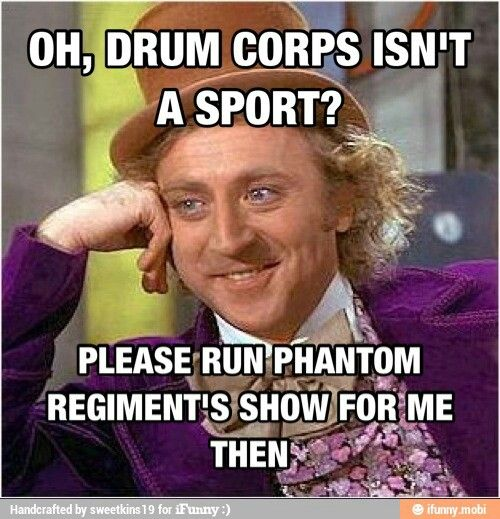 Drum corp!!! Phantom