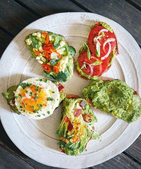 Avocado Toasts - 5 ways