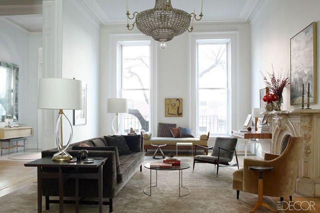 Ulubione pokoje Elle Decor z 2013 roku | Dom-wnetrze
