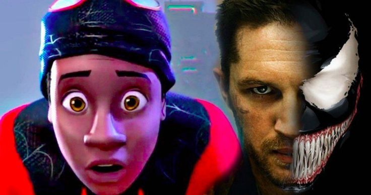 Tom Hardy to Voice Venom in Animated Spider-Man Movie? -- John Krasinski is rumored to be playing Peter Parker in Sony's animated Spider-Man movie Into the Spider-Verse, with a connect to the live-action movies teased. -- http://movieweb.com/spider-man-animated-movie-spider-verse-cast-tom-hardy-john-krasinski/