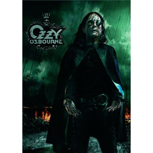 Ozzy Osbourne Postcard: Black Rain Wholesale Ref:OZZPC01