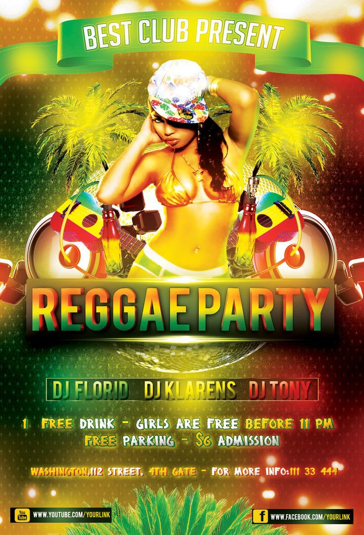 17 best ideas about flyer wright flyer men s reggae party flyer psd template by klarensm com on