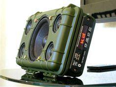 DIY Tough Bluetooth Boombox (Lasts 20hrs!) #bluetooth #altavoces #Ingameplay.com