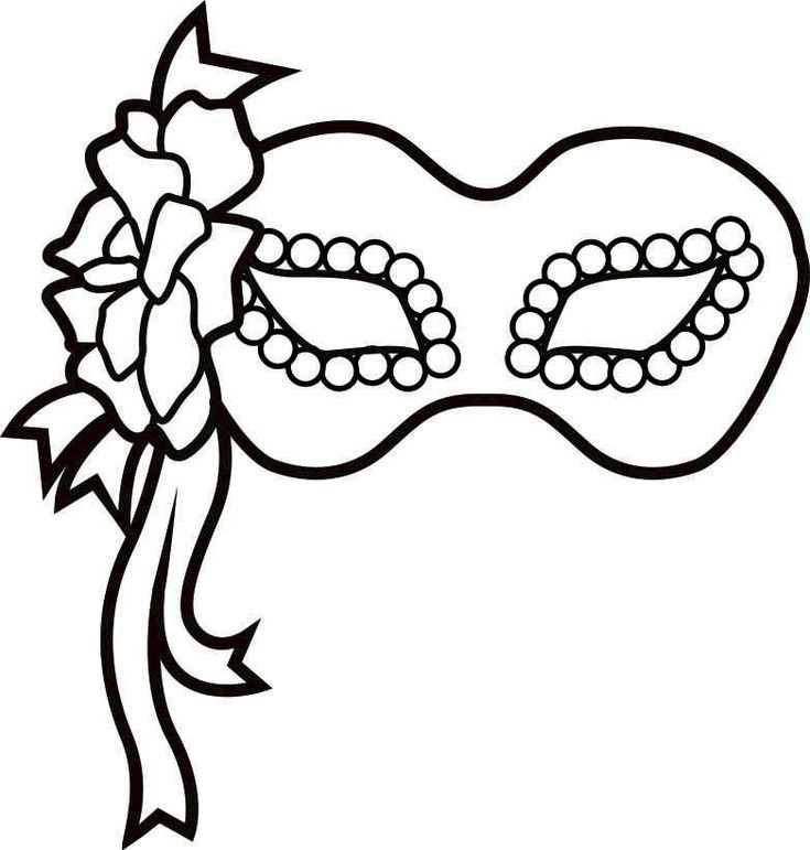 14 best Coloring Pages (Mardi Gras) images on Pinterest