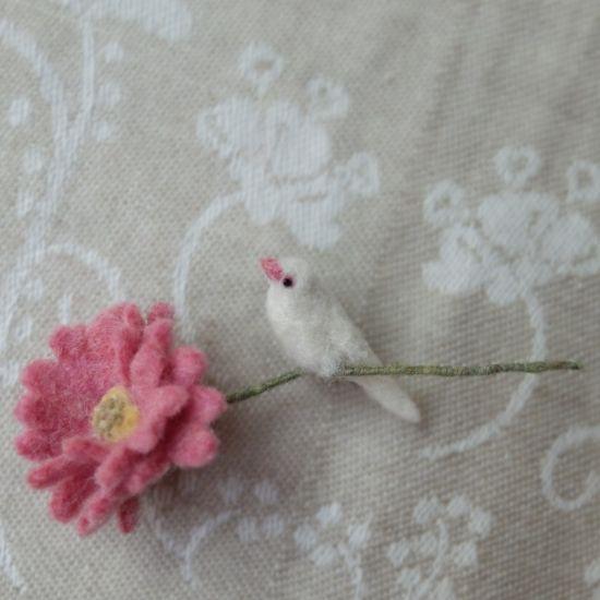 シロブンチョウ×ガーベラ - 千種-chigusa-
