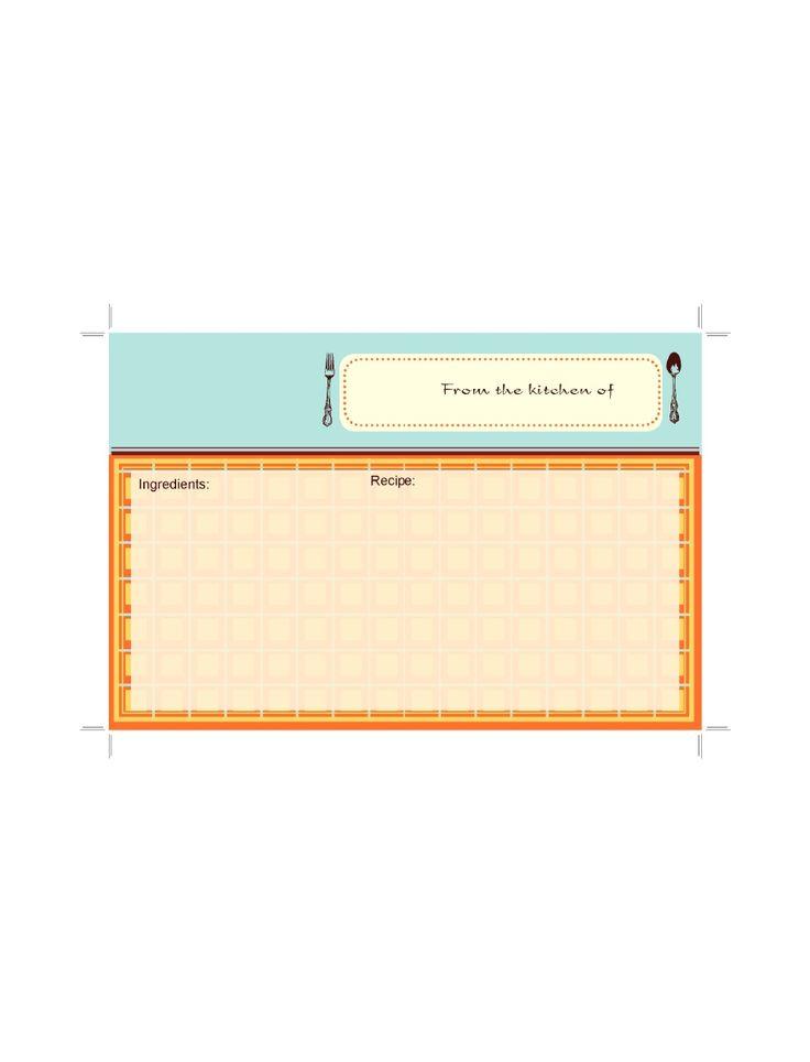 personalized cookbook type b pdf