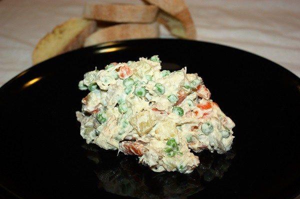 Insalata russa con pollo lesso avanzato :http://ropa55.it/insalata-russa-con-pollo-lesso-avanzato/