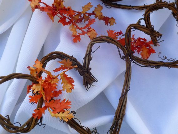Rustic Garland With Or Without Leaves On Ends by HandmadeAffair