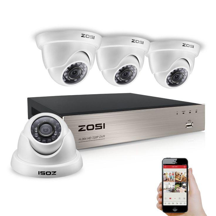 amcrest 720p hdcvi 8ch dvr surveillance